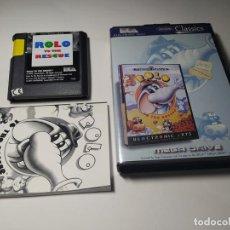 Videojuegos y Consolas: ROLO TO THE RESCUE ( SEGA MEGA DRIVE - PAL -ESP). Lote 230823870