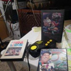 Videojuegos y Consolas: PACK3 JUEGOS + MANDO TURBO TOUCH 360 DE TRIAX PARA CONSOLA SEGA MEGA DRIVE. Lote 230927820