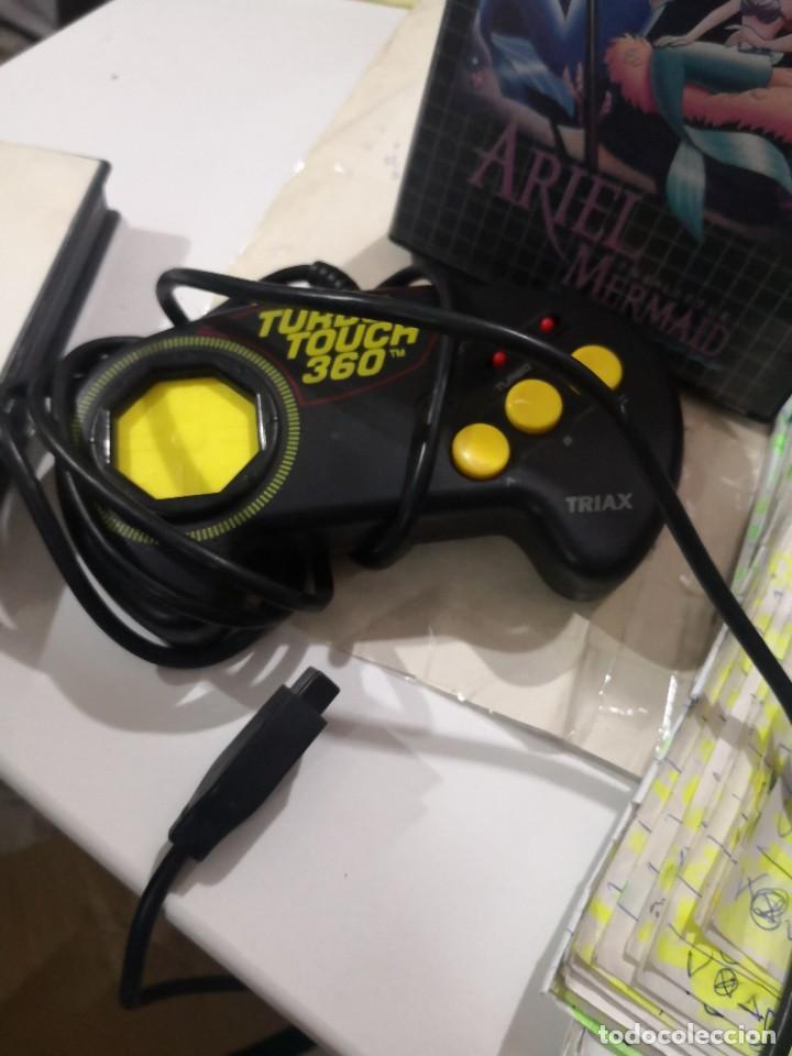 Videojuegos y Consolas: Pack3 juegos + Mando TURBO TOUCH 360 DE TRIAX PARA CONSOLA SEGA MEGA DRIVE - Foto 2 - 230927820