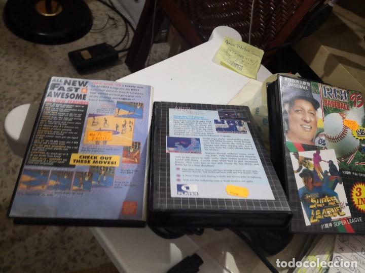 Videojuegos y Consolas: Pack3 juegos + Mando TURBO TOUCH 360 DE TRIAX PARA CONSOLA SEGA MEGA DRIVE - Foto 3 - 230927820