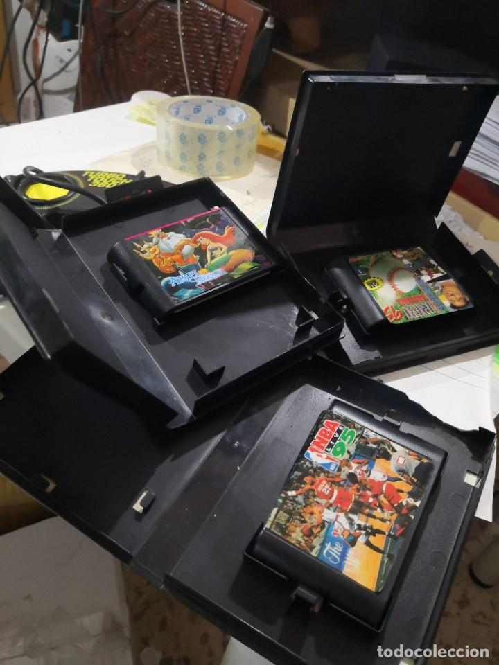 Videojuegos y Consolas: Pack3 juegos + Mando TURBO TOUCH 360 DE TRIAX PARA CONSOLA SEGA MEGA DRIVE - Foto 4 - 230927820