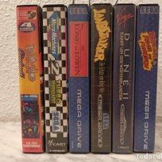 Videojuegos y Consolas: LOTE JUEGOS MEGA DRIVE. Lote 231541055