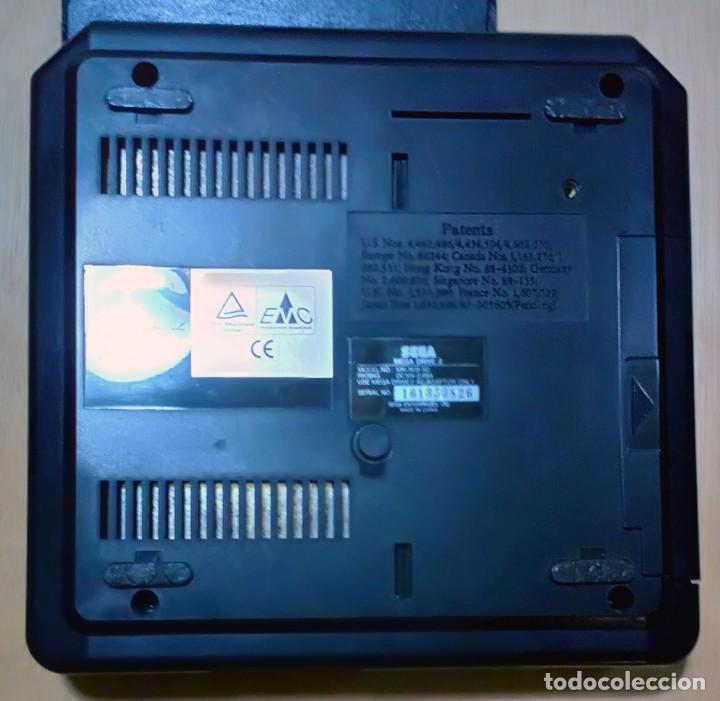 Videojuegos y Consolas: Consola / Sega Mega Drive II 2 Megadrive 16 bits PAL 1994 (Con 1 Mando y Conexion Scart para TV) - Foto 5 - 67839629