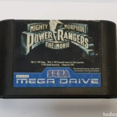 Videojuegos y Consolas: MIGHTY MORPHIN POWER RANGER THE MOVIE SEGA MAGA DRIVE. Lote 232533885