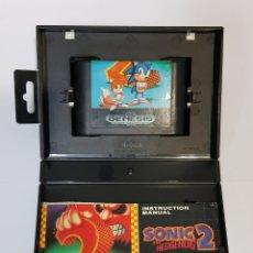 Videojuegos y Consolas: SONIC THE HEDGEHOG 2 - SEGA MEGA DRIVE - CON CAJA E INSTRUCCIONES. Lote 232534475