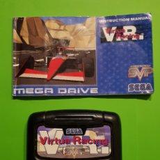 Videojogos e Consolas: VIRTUA RACING V.R. - SEGA MEGA DRIVE / CON INSTRUCCIONES. Lote 232658125