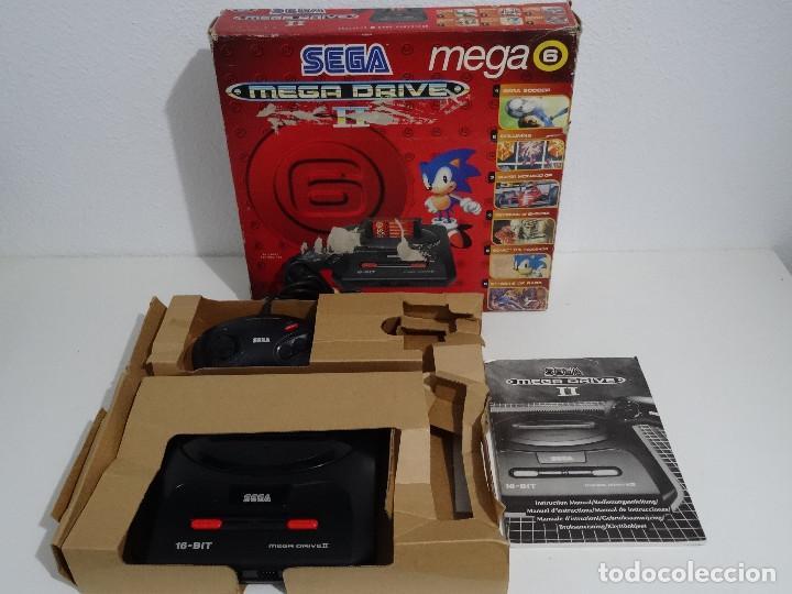 SEGA MEGA DRIVE II ORIGINAL VERSIÓN VENDIDA EN ESPAÑA PAL MD MEGADRIVE 2 (Juguetes - Videojuegos y Consolas - Sega - MegaDrive)