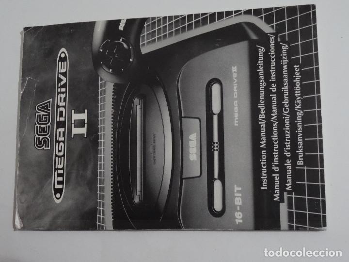 Videojuegos y Consolas: SEGA MEGA DRIVE II original VERSIÓN vendida en ESPAÑA PAL mD mEGAdRIVE 2 - Foto 6 - 262487785