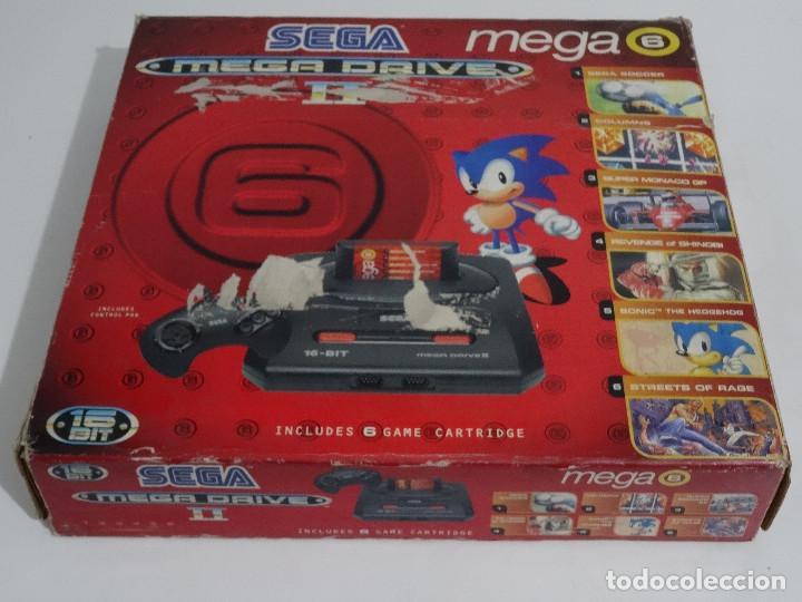 Videojuegos y Consolas: SEGA MEGA DRIVE II original VERSIÓN vendida en ESPAÑA PAL mD mEGAdRIVE 2 - Foto 7 - 262487785