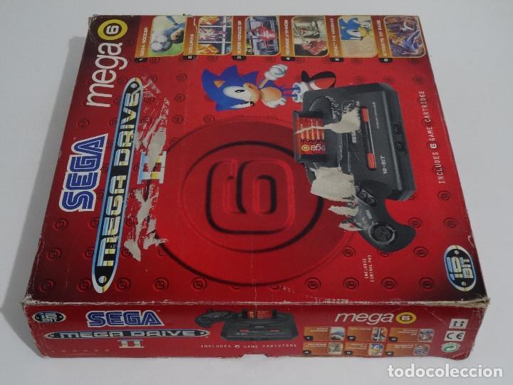 Videojuegos y Consolas: SEGA MEGA DRIVE II original VERSIÓN vendida en ESPAÑA PAL mD mEGAdRIVE 2 - Foto 8 - 262487785