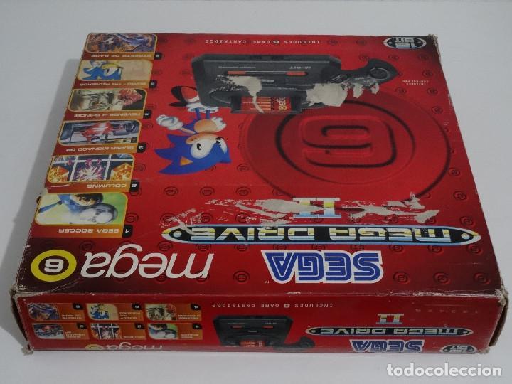Videojuegos y Consolas: SEGA MEGA DRIVE II original VERSIÓN vendida en ESPAÑA PAL mD mEGAdRIVE 2 - Foto 9 - 262487785
