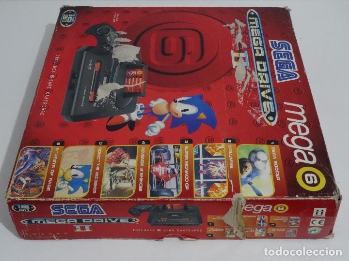Videojuegos y Consolas: SEGA MEGA DRIVE II original VERSIÓN vendida en ESPAÑA PAL mD mEGAdRIVE 2 - Foto 10 - 262487785