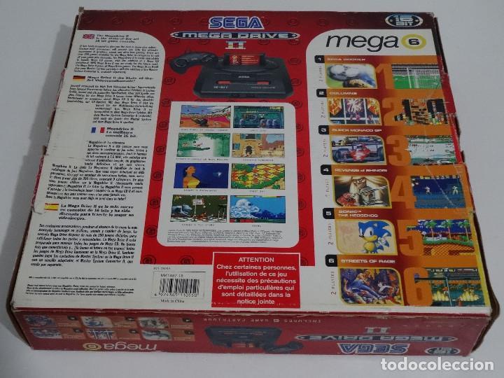 Videojuegos y Consolas: SEGA MEGA DRIVE II original VERSIÓN vendida en ESPAÑA PAL mD mEGAdRIVE 2 - Foto 11 - 262487785
