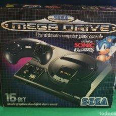 Videojogos e Consolas: CONSOLA SEGA MEGA DRIVE 16_BIT CON EL MANDO Y EL CABLE Y CARGADOR TAL CUAL COMO SE VE EN FOTOS. Lote 234023920