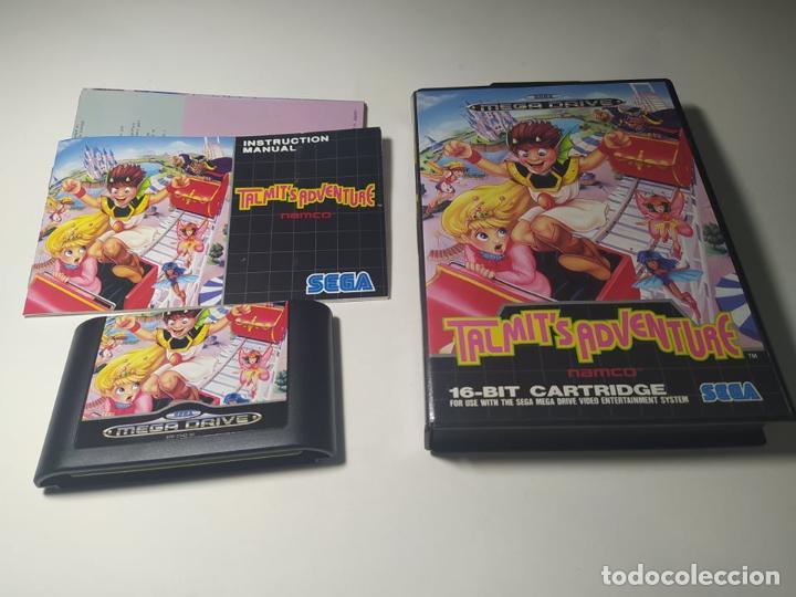 TALMIT´S ADVENTURE ( SEGA MEGA DRIVE - PAL -ESP) (Juguetes - Videojuegos y Consolas - Sega - MegaDrive)