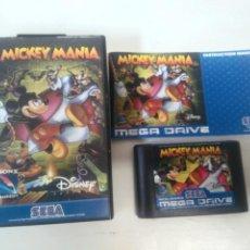 Videogiochi e Consoli: MICKEY MANIA MEGADRIVE ENTRE Y MIRE MIS OTROS JUEGOS!!. Lote 235113350