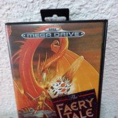 Videojuegos y Consolas: THE FAERY TALE ADVENTURE SEGA MEGA DRIVE VIDEOJUEGO COMPLETO. Lote 236200775
