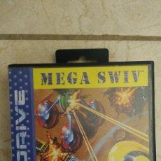 Videojuegos y Consolas: CARTUCHO SEGA MEGA DRIVE MEGA SWIV VIDEOJUEGO MEGADRIVE. Lote 236396085