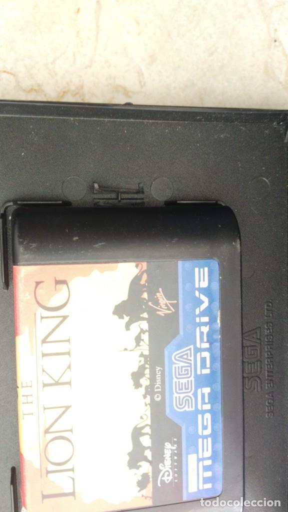 Videojuegos y Consolas: Lote juegos mega drive rey León y toy story sega megadrive videojuegos cartuchos - Foto 2 - 236396445