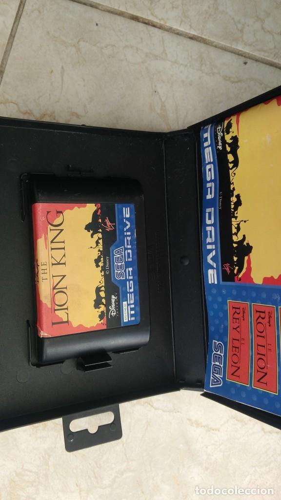 Videojuegos y Consolas: Lote juegos mega drive rey León y toy story sega megadrive videojuegos cartuchos - Foto 3 - 236396445