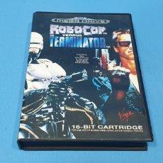 Videojuegos y Consolas: JUEGO - ROBOCOP THE VERSUS TERMINATOR - MEGA DRIVE - SEGA - VIRGIN. Lote 236528420