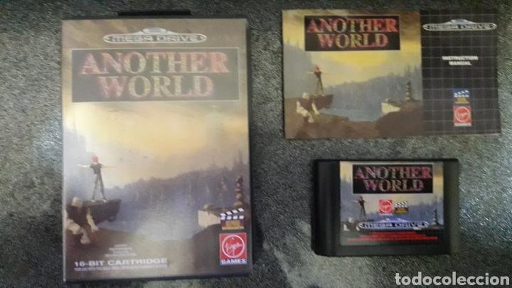 ANOTHER WORLD SEGA MEGA DRIVE (Juguetes - Videojuegos y Consolas - Sega - MegaDrive)