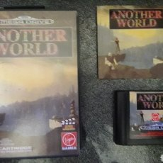 Videojuegos y Consolas: ANOTHER WORLD SEGA MEGA DRIVE. Lote 236785300