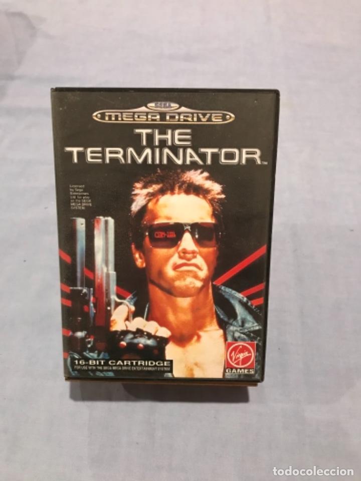 THE TERMINATOR - MEGA DRIVE SEGA, COMPLETA, ORIGINAL (Juguetes - Videojuegos y Consolas - Sega - MegaDrive)