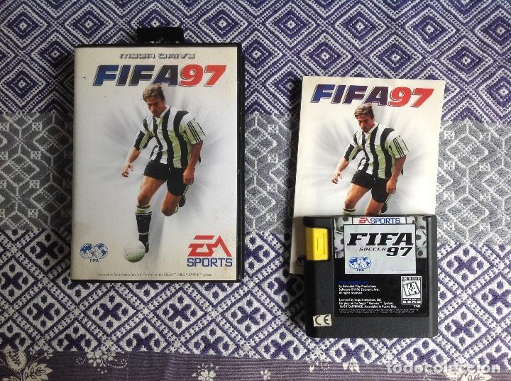FIFA 97 MEGADRIVE COMPLETO (Juguetes - Videojuegos y Consolas - Sega - MegaDrive)