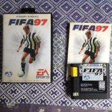 Videojuegos y Consolas: FIFA 97 MEGADRIVE COMPLETO. Lote 236821025