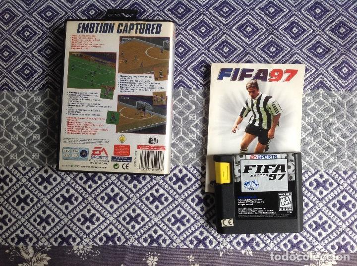Videojuegos y Consolas: FIFA 97 MEGADRIVE COMPLETO - Foto 2 - 236821025