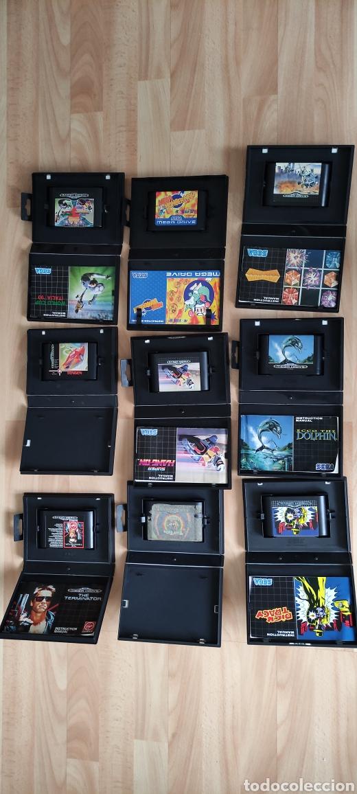 PACK 27 JUEGOS SEGA MEGA DRIVE (Juguetes - Videojuegos y Consolas - Sega - MegaDrive)