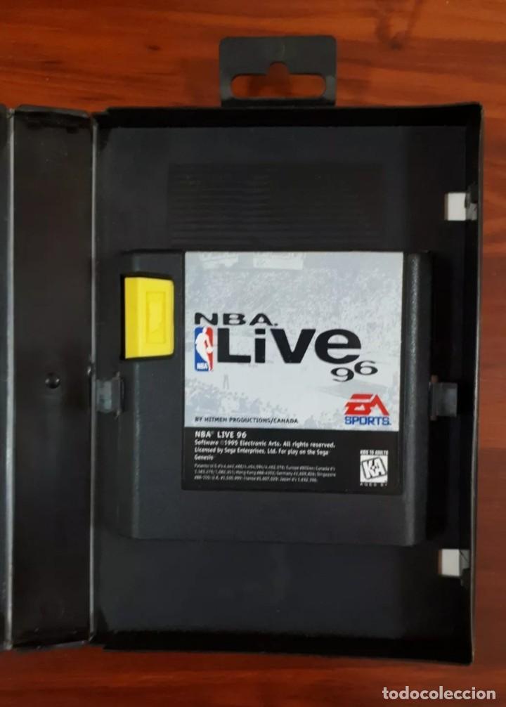 Videojuegos y Consolas: NBA LIVE 96 - EA SPORTS - SEGA MEGA DRIVE - CARTUCHO - 16 BIT - Foto 2 - 75589443