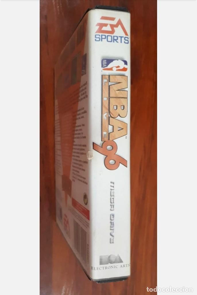 Videojuegos y Consolas: NBA LIVE 96 - EA SPORTS - SEGA MEGA DRIVE - CARTUCHO - 16 BIT - Foto 4 - 75589443