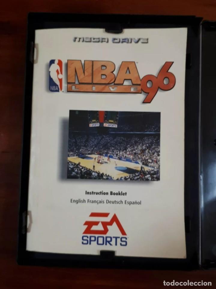 Videojuegos y Consolas: NBA LIVE 96 - EA SPORTS - SEGA MEGA DRIVE - CARTUCHO - 16 BIT - Foto 6 - 75589443