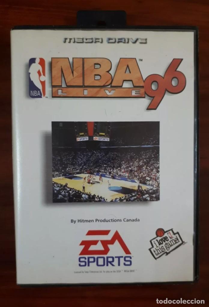 NBA LIVE 96 - EA SPORTS - SEGA MEGA DRIVE - CARTUCHO - 16 BIT (Juguetes - Videojuegos y Consolas - Sega - MegaDrive)