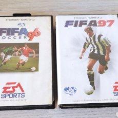 Videojuegos y Consolas: FIFA 97 Y 96 MEGADRIVE. Lote 237304785