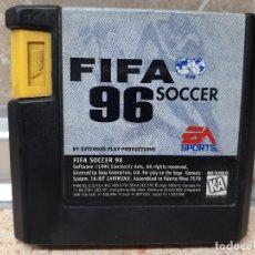 Videojuegos y Consolas: FIFA 96 SOCCER SOLO CARTUCHO SEGA MEGA DRIVE MEGADRIVE KREATEN MD SMD, VIDEOJUEGO.. Lote 237316585