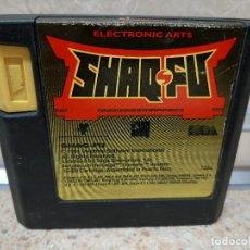 Videojuegos y Consolas: SHAQ FU SEGA MEGA DRIVE VIDEOJUEGO SHAQ-FU, CONSOLA.. Lote 237316830