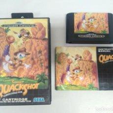 Videojuegos y Consolas: QUACKSHOT MEGADRIVE OTROS JUEGOS NINTENDO SONY SEGA MEGADRIVE DREAMCAST SATURN SNES N64. Lote 237354365