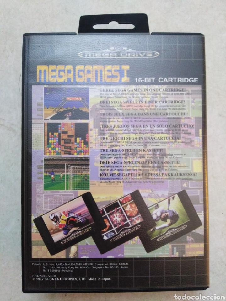 Videojuegos y Consolas: Mega games I sega mega drive, súper hang on / World cup Italia90 - Foto 2 - 237393775
