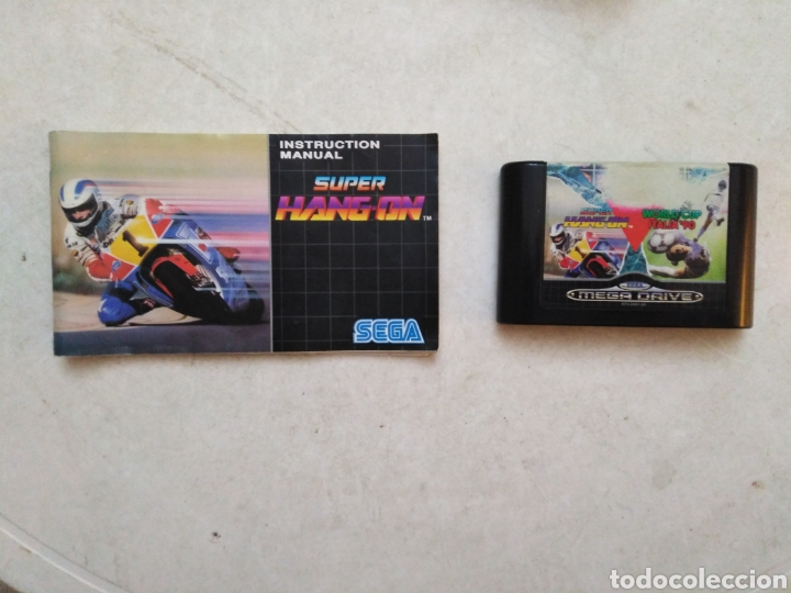 Videojuegos y Consolas: Mega games I sega mega drive, súper hang on / World cup Italia90 - Foto 4 - 237393775