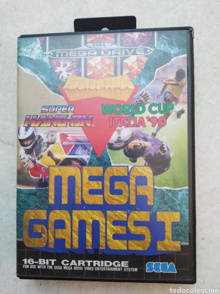 MEGA GAMES I SEGA MEGA DRIVE, SÚPER HANG ON / WORLD CUP ITALIA'90 (Juguetes - Videojuegos y Consolas - Sega - MegaDrive)