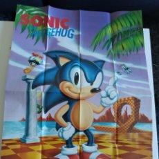 Videojogos e Consolas: POSTER Y CATALOGO SEGA MEGA DRIVE / SEGA MEGADRIVE. Lote 238750880