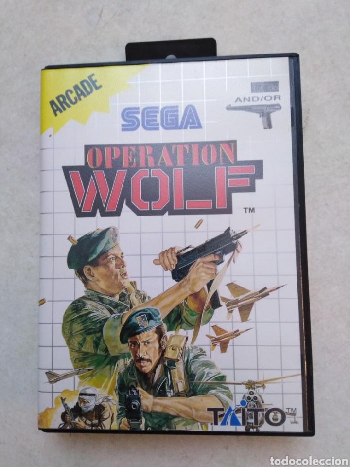 OPERACIÓN WOLF ( SEGA ARCADE ) (Juguetes - Videojuegos y Consolas - Sega - MegaDrive)