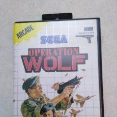 Videojuegos y Consolas: OPERACIÓN WOLF ( SEGA ARCADE ). Lote 238876340