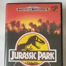 Videojuegos y Consolas: JURASSIC PARK - MEGA DRIVE SEGA 1992. Lote 239921155