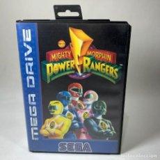 Videojogos e Consolas: VIDEOJUEGO SEGA - MEGA DRIVE - POWER RANGERS MIGHTY MORPHIN + CAJA. Lote 240903175