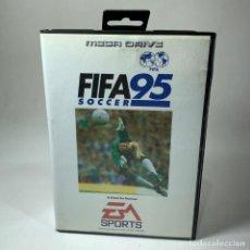 Videojogos e Consolas: VIDEOJUEGO SEGA - MEGA DRIVE - FIFA 95 SOCCER + CAJA. Lote 240903700