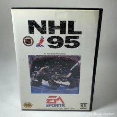 Videojuegos y Consolas: VIDEOJUEGO SEGA - GENESIS - NHL 95 + CAJA. Lote 240905475